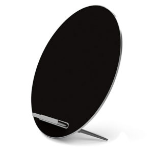 Funxim-w8-wireless-charger-bluetooth-W8-Black-galaxy-stand-1