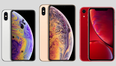 iPhone XR XS XS Max Lineup