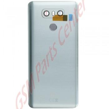 lg g6  h870  backcover acq89717201 incl camera lens and home button platinum