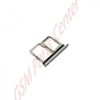 lg g6  h870  simcard and microsd holder abn75218201 titan