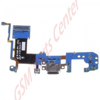 g955f samsung galaxy s8 plus charge connector flex cable front