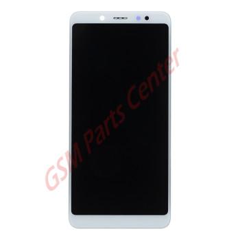 Xiaomi Redmi Note 5 LCD Display + Touchscreen + Frame White