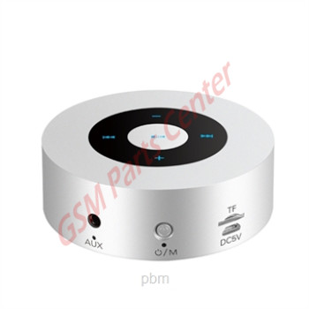 XO Mini Touch Stereo Bluetooth Speaker - XO-A8 - Silver