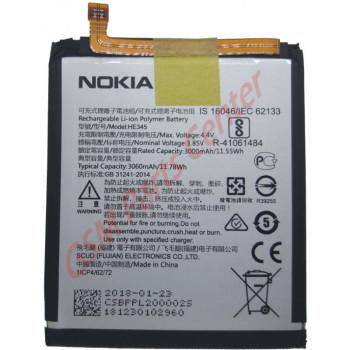 Nokia 6 (2018) (TA-1054)/6.1 (TA-1043) Battery HE345 - 3000 mAh