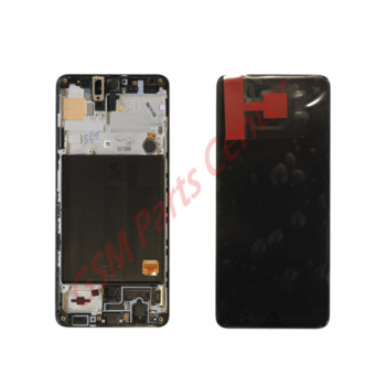 Samsung SM-A515F Galaxy A51 LCD Display + Touchscreen + Frame GH82-21669A/GH82-21680A Black