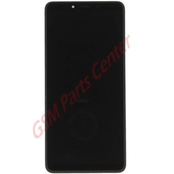 Samsung SM-A920F Galaxy A9 (2018) LCD Display + Touchscreen + Frame GH82-18308A Black
