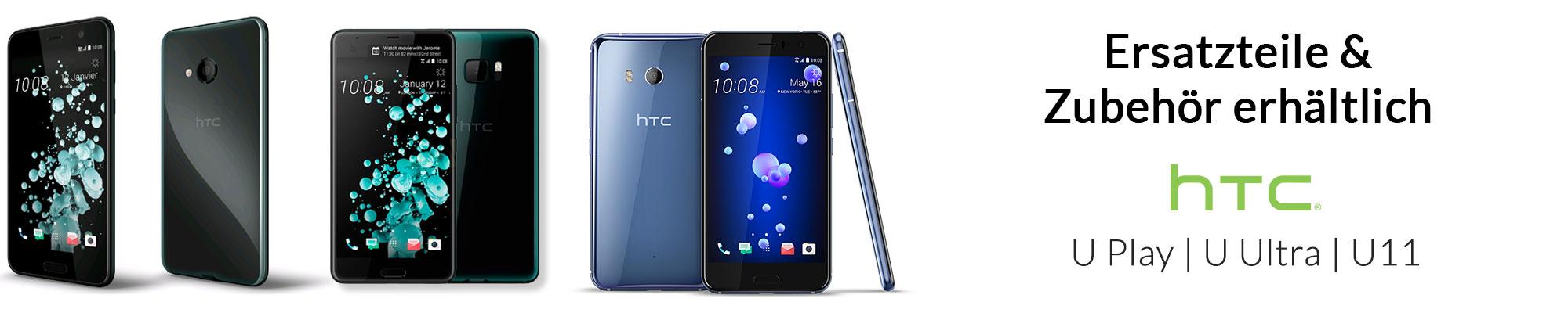 Ersatzteile & Zubehor fur HTC U Play, U Ultra und U11 erhaltlich