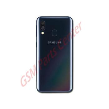 Samsung SM-A405F Galaxy A40 Backcover - With Camera Lens - Black