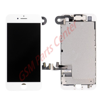 Apple iPhone 7 LCD Display + Touchscreen High Quality - Assembly - White