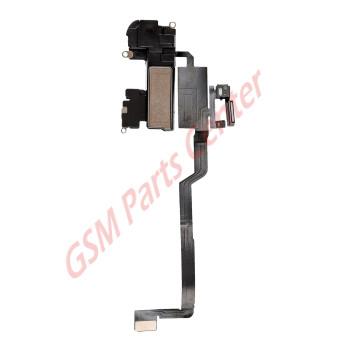 Apple iPhone X Sensor Flex Cable With Earphone Speaker + Front Camera Bracket