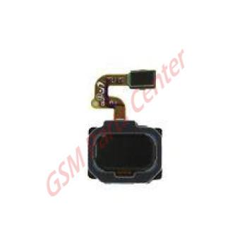 Samsung SM-A530F Galaxy A8 2018 Fingerprint Sensor Flex Cable GH96-11333A Black