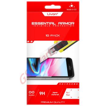 Livon  Huawei P20 Pro (CLT-L29C) Tempered Glass Bundle Pack 10 pieces