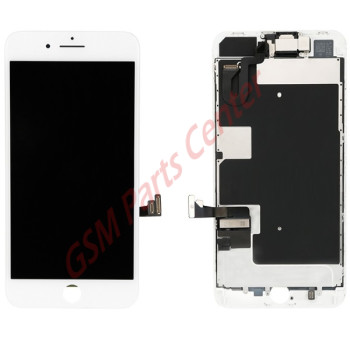 Apple iPhone 8 Plus LCD Display + Touchscreen High Quality - Assembly - White
