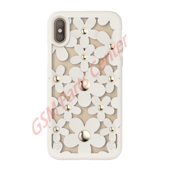 SwitchEasy Apple iPhone XS/X - Fleur - White