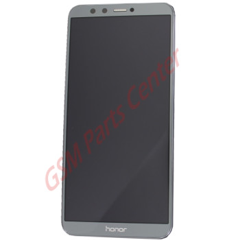 Huawei Honor 9 Lite (LLD-L31) LCD Display + Touchscreen + Frame Grey 02351SNR Incl. Battery and Parts