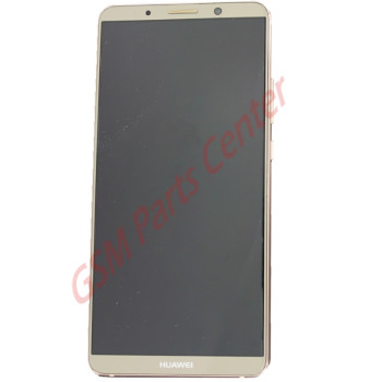 Huawei Mate 10 Pro (BLA-L29) LCD Display + Touchscreen + Frame Incl. Battery + Parts Brown 02351RQM