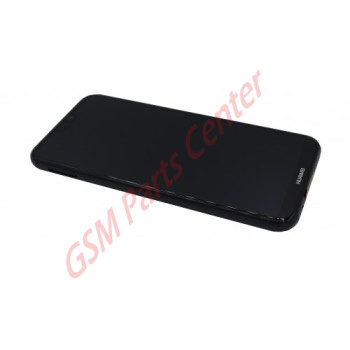Huawei P20 Lite (ANE-LX1) LCD Display + Touchscreen + Frame Black Incl. Battery + Parts 02351VPR