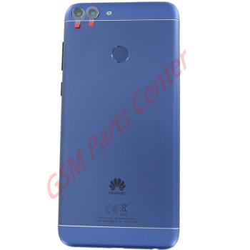 Huawei P Smart (FIG-LX1)  Backcover Incl. Fingerprint Sensor and Camera Lens Blue 02351TED