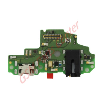 Huawei P Smart (FIG-LX1)  Charge Connector Board Incl. Microphone and Audio Jack 02351SWE