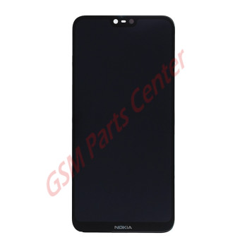 Nokia 6.1 Plus (Nokia X6) (TA-1103) LCD Display + Touchscreen 20PDABW0002 Black