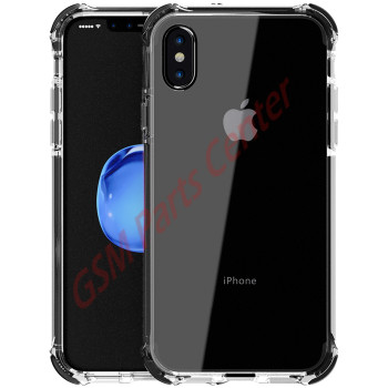 Livon Apple iPhone X/iPhone Xs Tactical Armor - Shock Shield - Black
