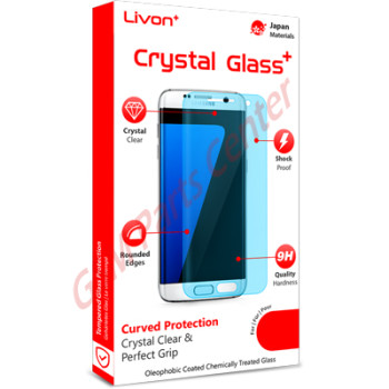 Livon Samsung G950F Galaxy S8 Tempered Glass 0.3mm - 2,5D Full Clear | English - GSM Parts Center