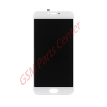 Meizu M3 Note LCD Display + Touchscreen White