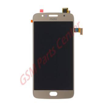 Motorola Moto G5S (XT1793) LCD Display + Touchscreen Gold