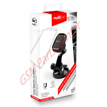 Multiline Power Magnetic Car Holder - Dashboard - Black