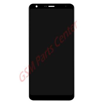LG Q Stylo 4 (LM-Q710MS) LCD Display + Touchscreen  Black