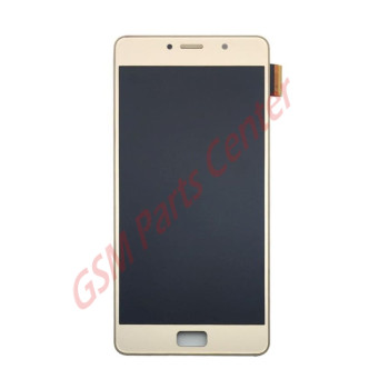Lenovo P2 LCD Display + Touchscreen  Gold