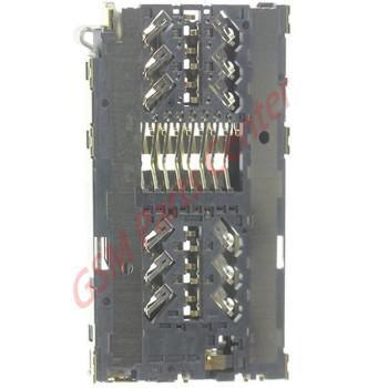 Samsung G930F Galaxy S7 Simcard reader Connector + Memorycard reader Connector 3709-001892