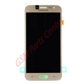 Samsung J250F Galaxy J2 (2018) LCD Display + Touchscreen GH97-21339D Gold