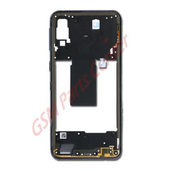 Samsung SM-A405F Galaxy A40 Midframe GH97-22974A Black