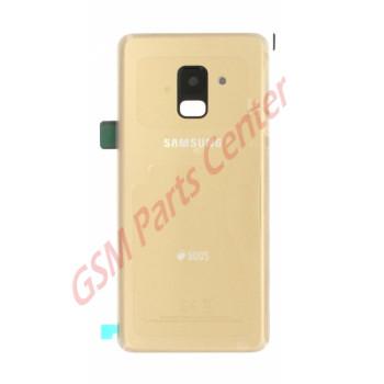 Samsung SM-A530F Galaxy A8 2018 Backcover GH82-15557C Duos Gold