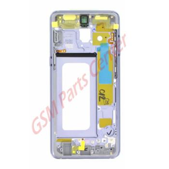 Samsung SM-A530F Galaxy A8 2018 Midframe Incl. Power & Volume Flex GH96-11295B Orchid Gray