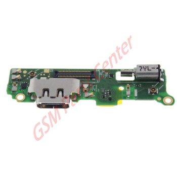 Sony Xperia XA2 (H3113, H4113) Charge Connector Board Incl. Vibration + Microphone 78PC0200010