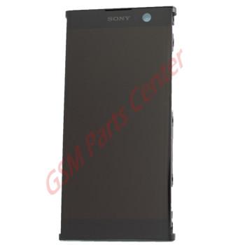 Sony Xperia XA2 (H3113, H4113) LCD Display + Touchscreen + Frame 78PC0600020 Black