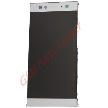 Sony Xperia XA2 Ultra (H3213, H4213) LCD Display + Touchscreen + Frame 78PC2300010 Silver