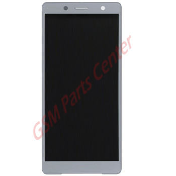 Sony Xperia XZ2 Compact (H8324) LCD Display + Touchscreen 1313-0917 Silver