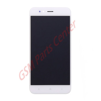 Xiaomi Mi A1 LCD Display + Touchscreen + Frame White