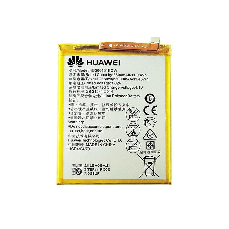 Huawei P Series/Honor/Y Series Battery HB366481ECW - 3000mAh Li-Ion