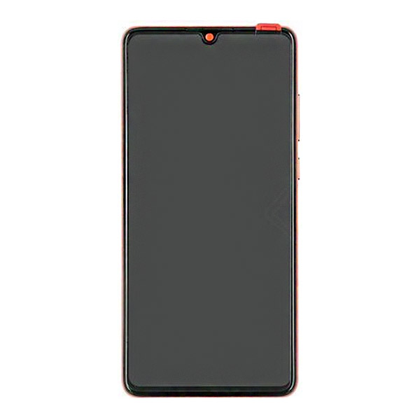 Huawei P30 (ELE-L29) LCD Display + Touchscreen + Frame Incl. Battery + Parts 02352NLQ Amber