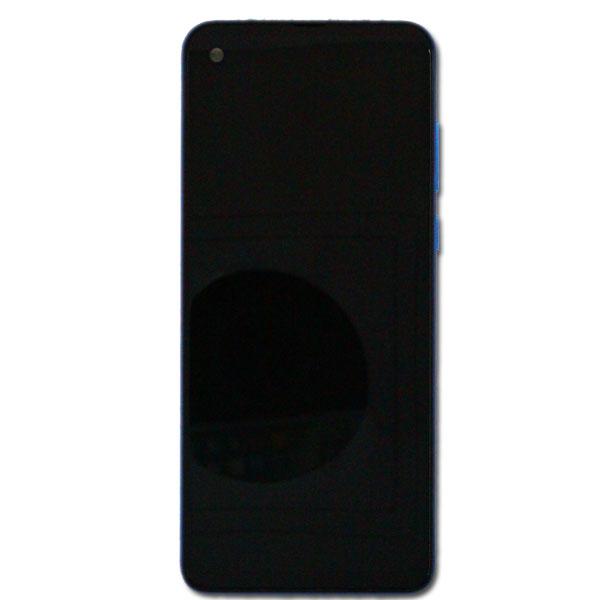 Motorola One Vision (XT1970) LCD Display + Touchscreen + Frame 5D68C14352 Blue