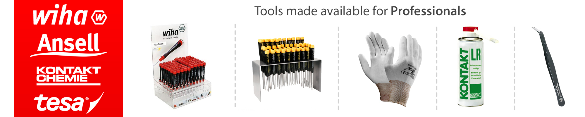 Professional ESD safe repair tools and materials for all repair by GPC