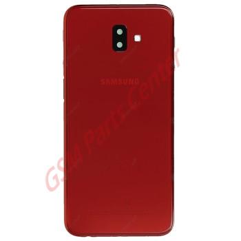 Samsung SM-J610F Galaxy J6+ Backcover GH82-17872B Red