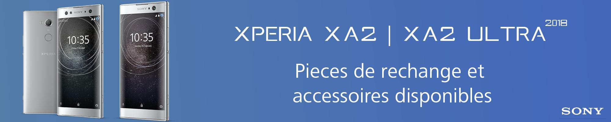 Nouvelles pièces de rechange et accessoires disponibles pour Sony Xperia XA2 et XA2 Ultra