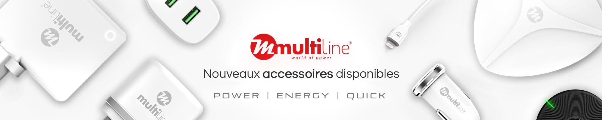 Nouveaux Pieces detachees et accessoires pour Multiline Chargeurs GSM Parts Center