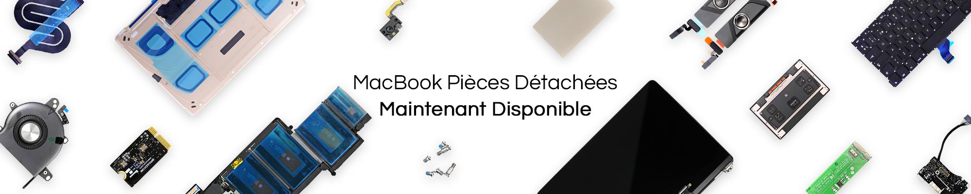 Nouvelles pièces de rechange et accessoires disponibles pour Apple Macbook