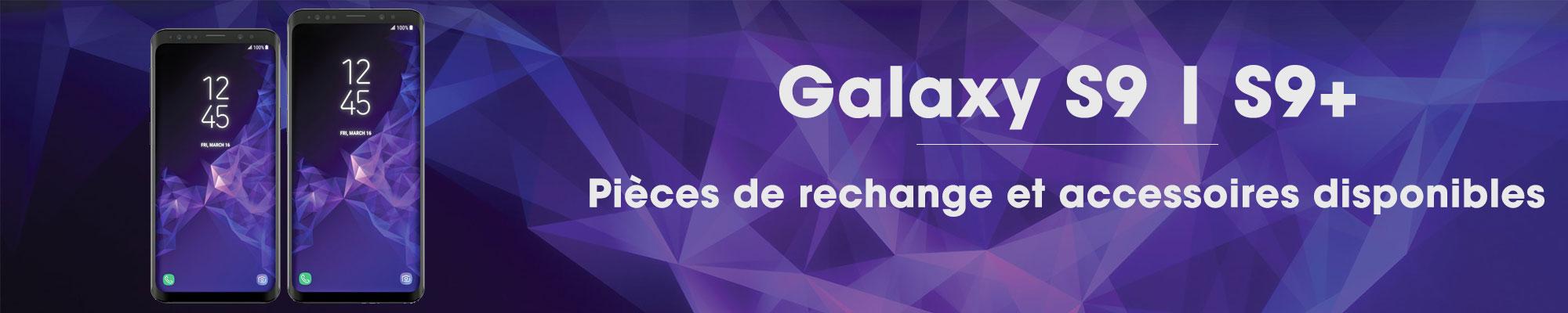 Nouvelles pièces de rechange et accessoires disponibles pour Samsung Galaxy S9 et S9+